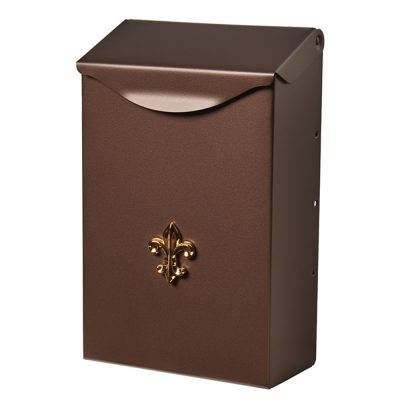 City Classic Bronze Wall Mount Mailbox