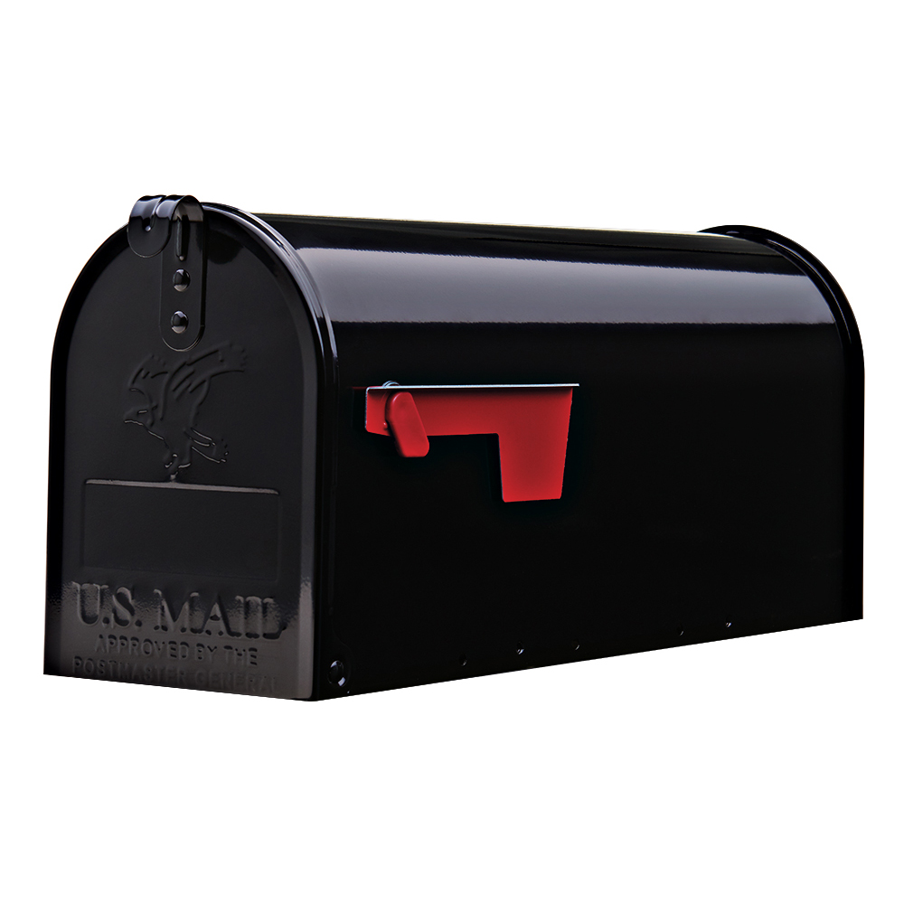 Elite post mount mailbox