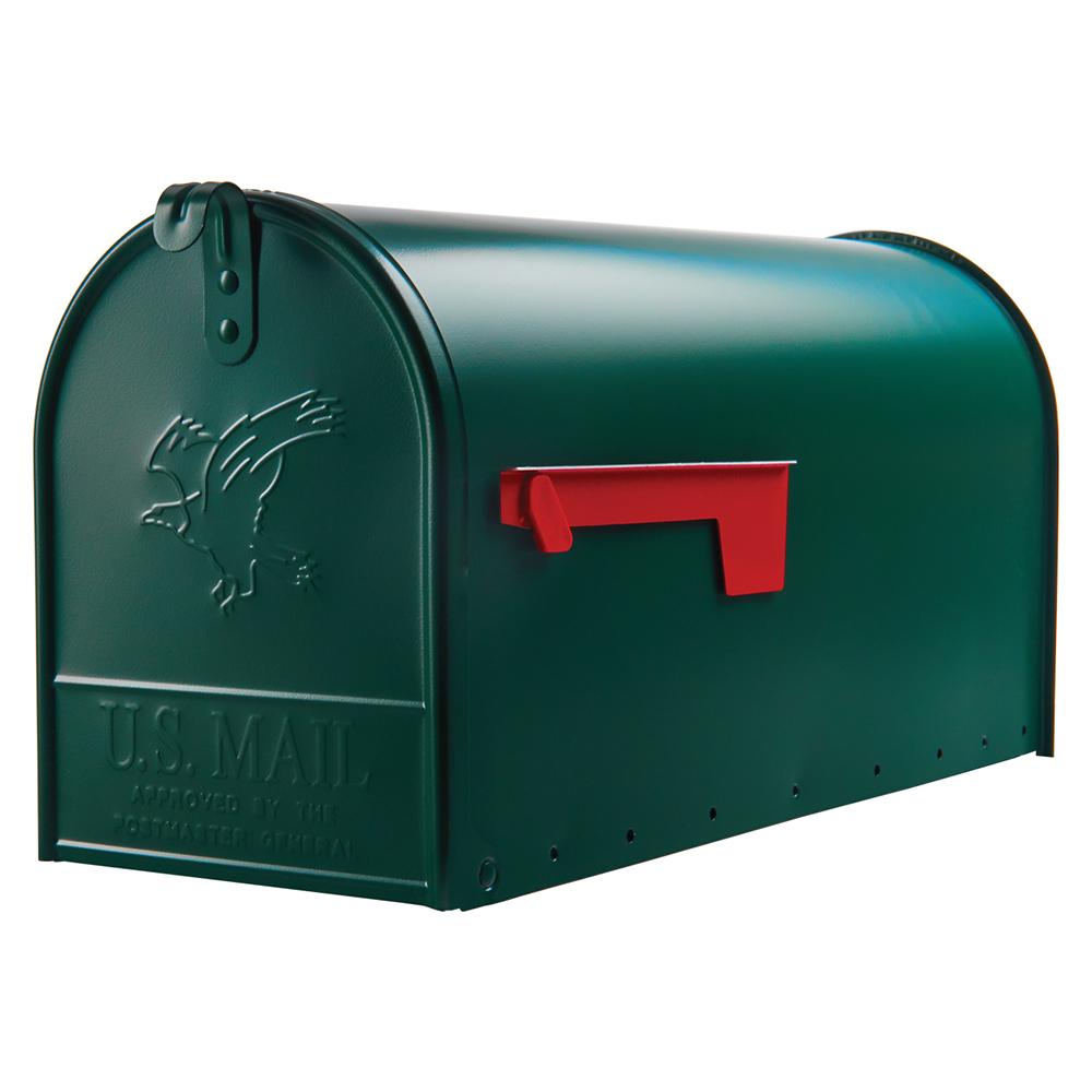 Elite Large Green mailbox