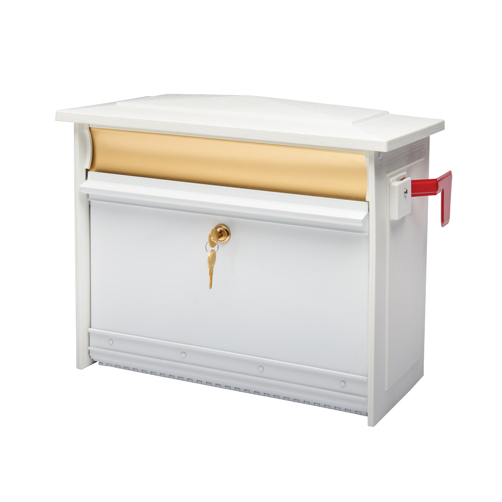 Mailsafe Locking Mailbox Wall Mount Mailbox Gibraltar