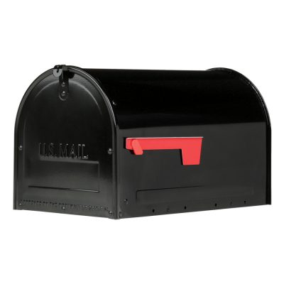 MLM16KB1 Locking Post Mount Mailbox