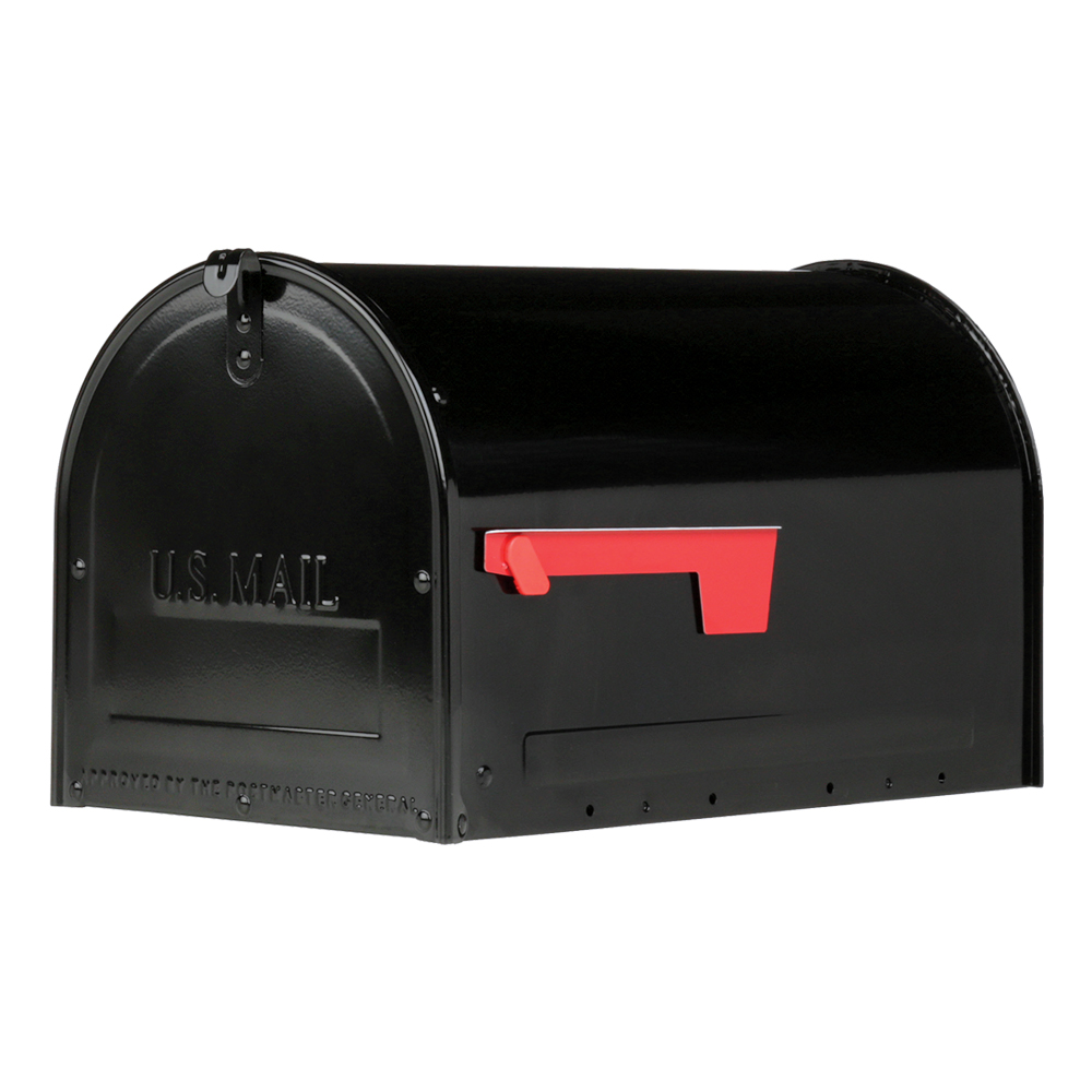 Marshall Locking Mailbox Black