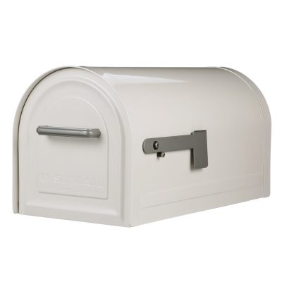 Residential mailboxes side view Side Mount Mb981w01 Locking Mailbox Thoroughly Reviewed Mailbox Products View All Mailboxes Gibraltar Mailboxes