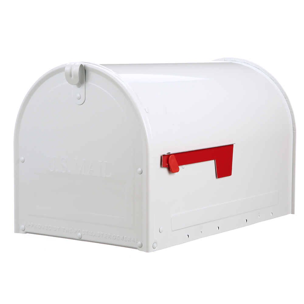 MLM16KW1 Locking Post Mount Mailbox