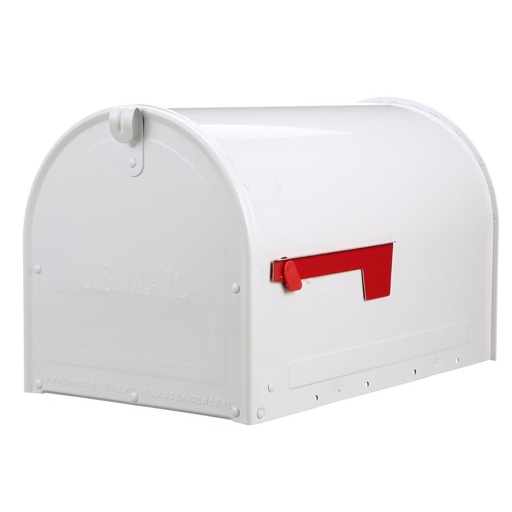 MLM16KW1 Locking Post Mount Mailbox