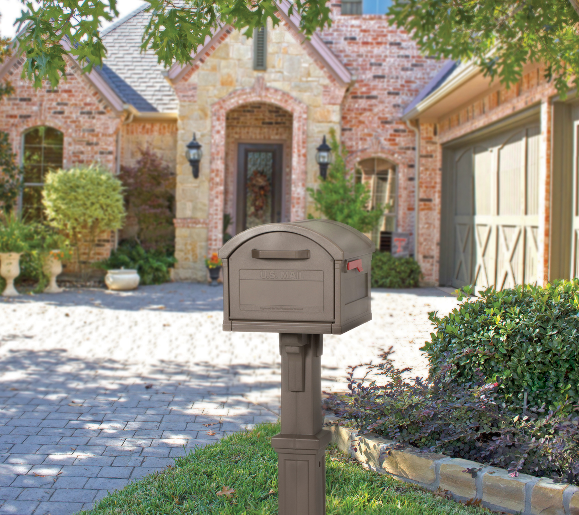 grand haven mailbox in use